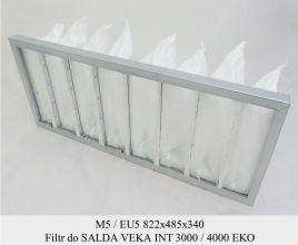 Filtr EU5 do SALDA VEKA INT 3000 / 4000 EKO (822x485x340)