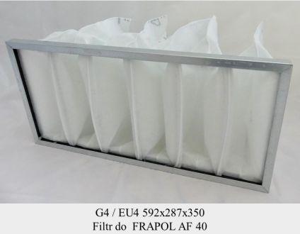 Filtr EU4 do FRAPOL AF40 (592x287x350)
