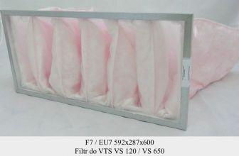 Filtr EU7 do VTS VS 120/650 (592x287x600)