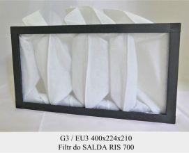 Filtr EU3 do SALDA RIS 700 (400x224x210)