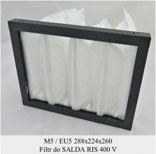 Filtr EU5 do SALDA RIS 400 V (288x224x260)