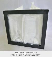 Filtr EU5 do SALDA RIS 200V EKO 3.0 (218x228x213)