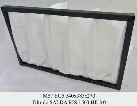 Filtr EU5 do SALDA RIS 1500 HE 3.0 (540x385x270)