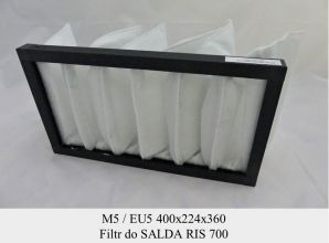 Filtr EU5 do SALDA RIS 700 (400x224x360)