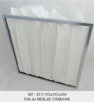 Filtr EU5 do MEKAR 23MK0406 KOD 80653010-1002 (592x592x360)