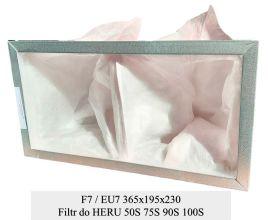 Filtr kieszeniowy do centrali HERU 50S 75S 90S 100S (365x195x230)