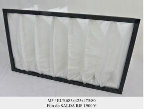 Filtr EU5 do SALDA RIS 1900 V o kieszeniach skośnych (685x425x475)