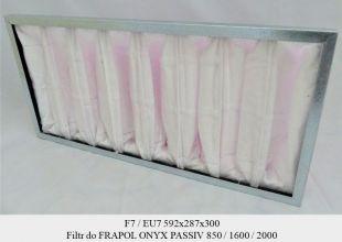 Filtr EU7 do central FRAPOL  (592x287x300)