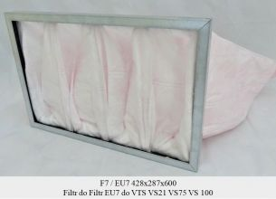 Filtr EU7 do VTS VS21 VS75 VS 100 (428x287x600)