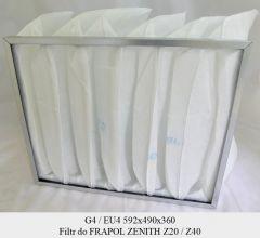 Filtr EU4 do FRAPOL Zenith Z20 / Z40 (592x490x360)