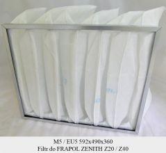Filtr EU5 do FRAPOL Zenith Z40 (592x490x360)