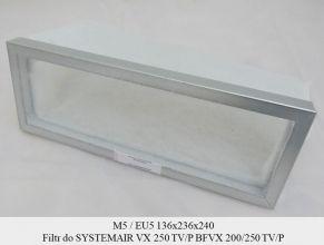 Filtr EU5 do SYSTEMAIR VX 250 TV/P (136x236x240)