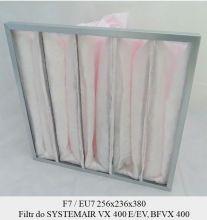 Filtr kieszeniowy EU7 do SYSTEMAIR VX 400 E/EV (256x236x380)