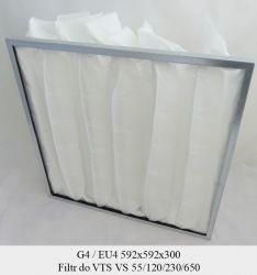Filtr EU4 do VTS VS 55/120/230/650 (592x592x300)