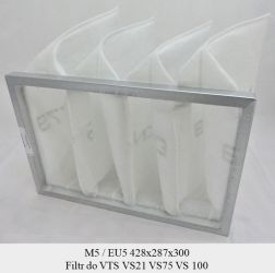 Filtr EU5 do VTS VS21 VS75 VS 100 (428x287x300)