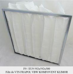 Filtr EU9 do FRAPOL VBW VTS KLIMOR KOMFOVENT (592x592x300)