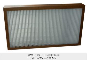 Filtr antysmogowy ePM1 70% do WANAS 250 MN (350x130x40)