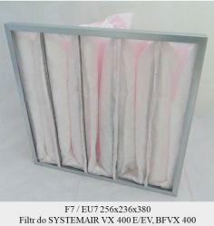 Filtr kieszeniowy EU7 do SYSTEMAIR VX 400 EV-L (256x236x380/150) BFVX 400