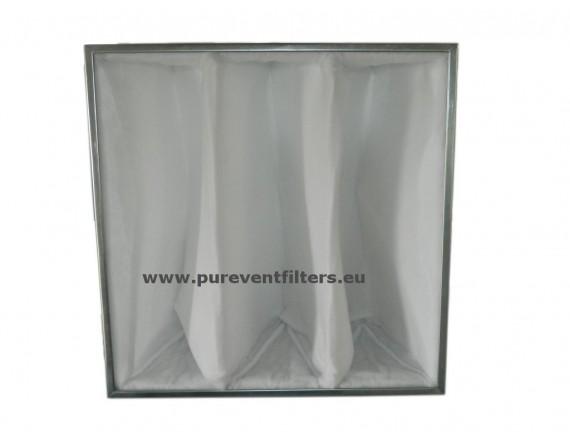Filtr kieszeniowy PVF EU7 B-283x283x4x285