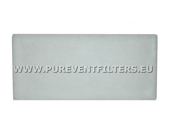 Filtr powietrza EU3 do SYSTEMAIR FGR 100 / 125 / 150 / 160 (225x195)