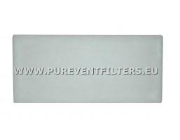 Filtr płaski PVF EU4 P-235x485